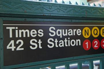 Subway at Christmas