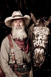 cowboying up