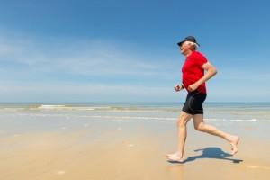 Senior coping with chronic pain